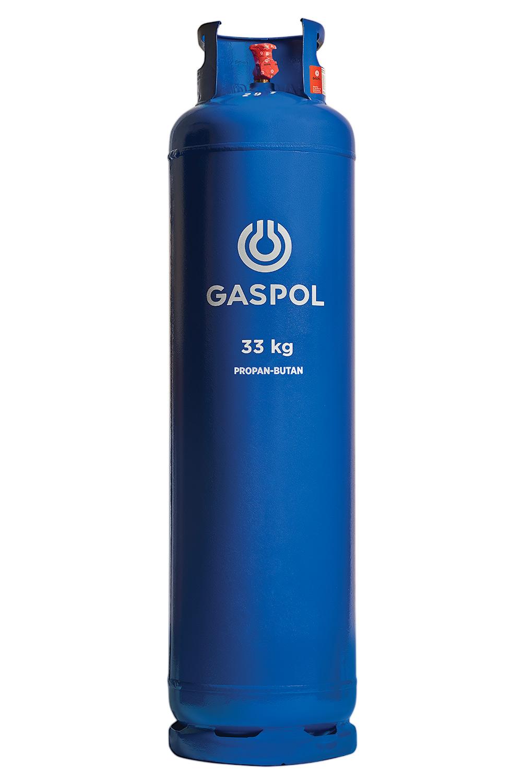 Butla gazowa 33kg propan-butan