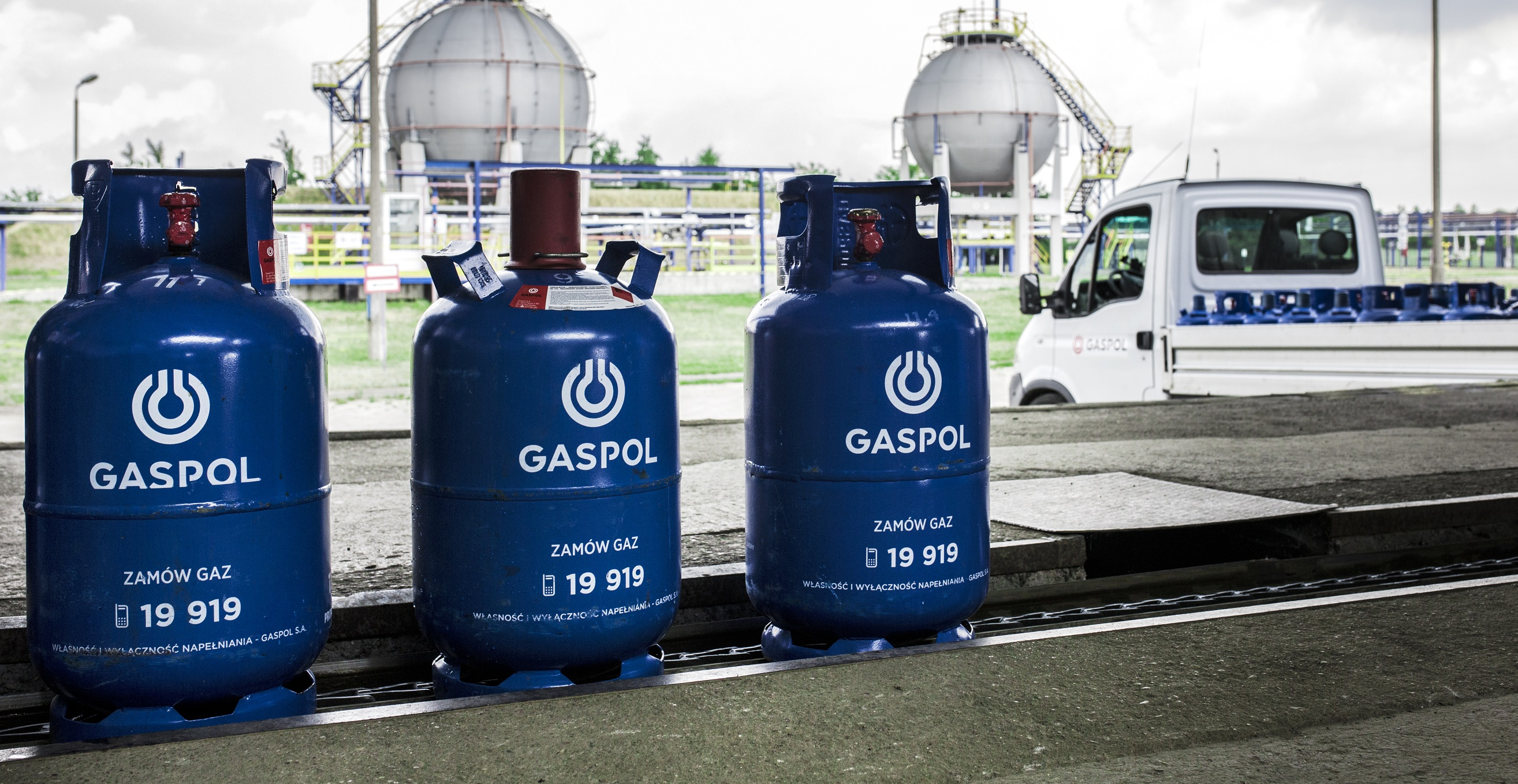 Butle gazowe w rozlewni