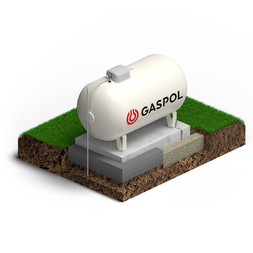 zbiornik na gaz płynny naziemny